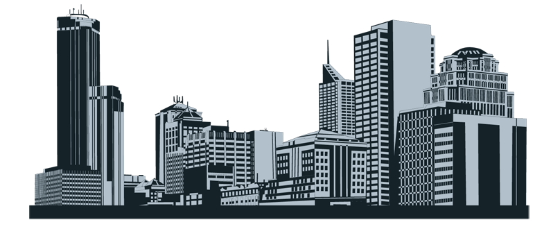 city skyline outline clipart best gIoXqV clipart